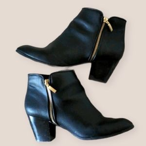 Style & Co Black Ankle Boots Size 10